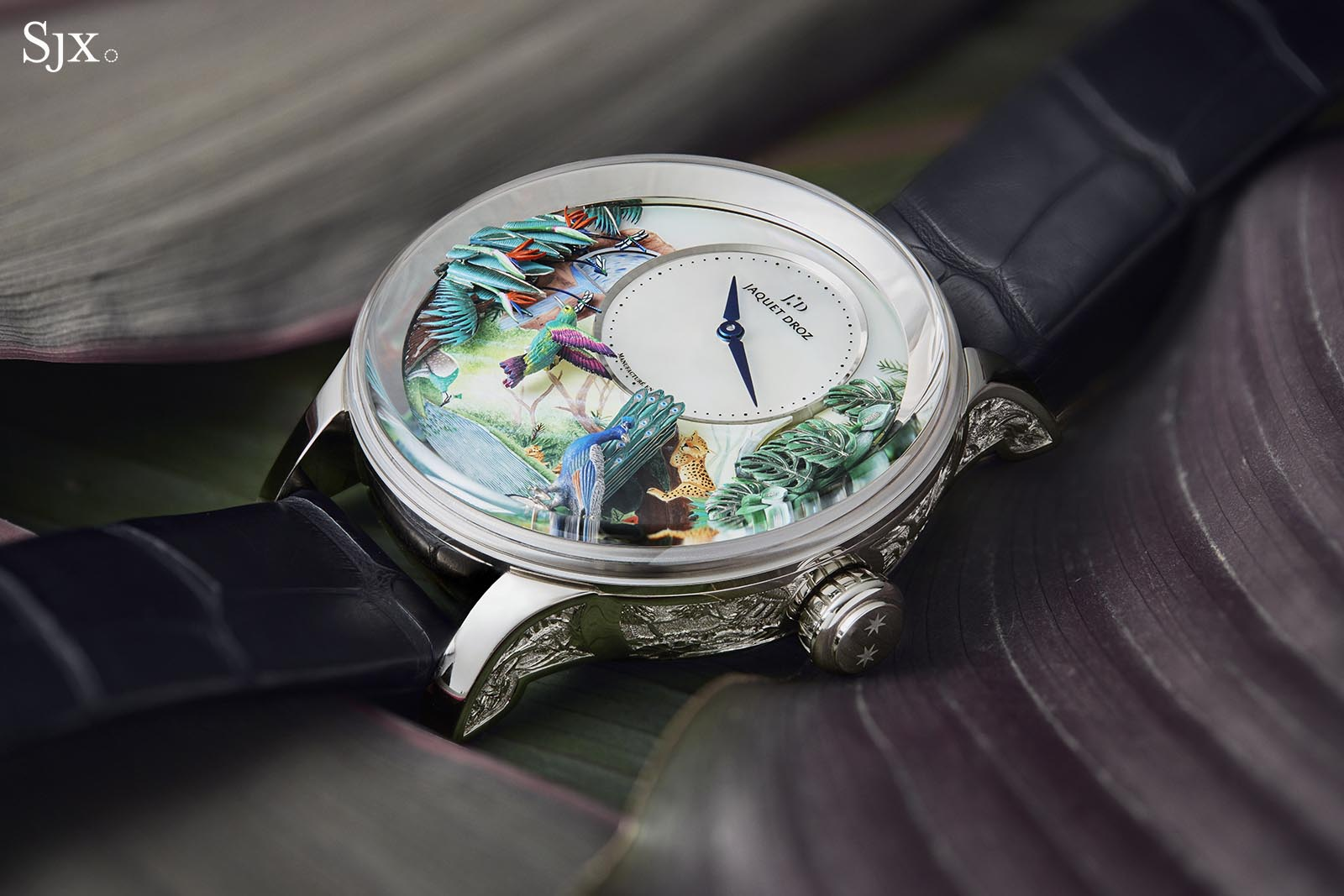 Jaquet Droz Tropical Bird Repeater 11