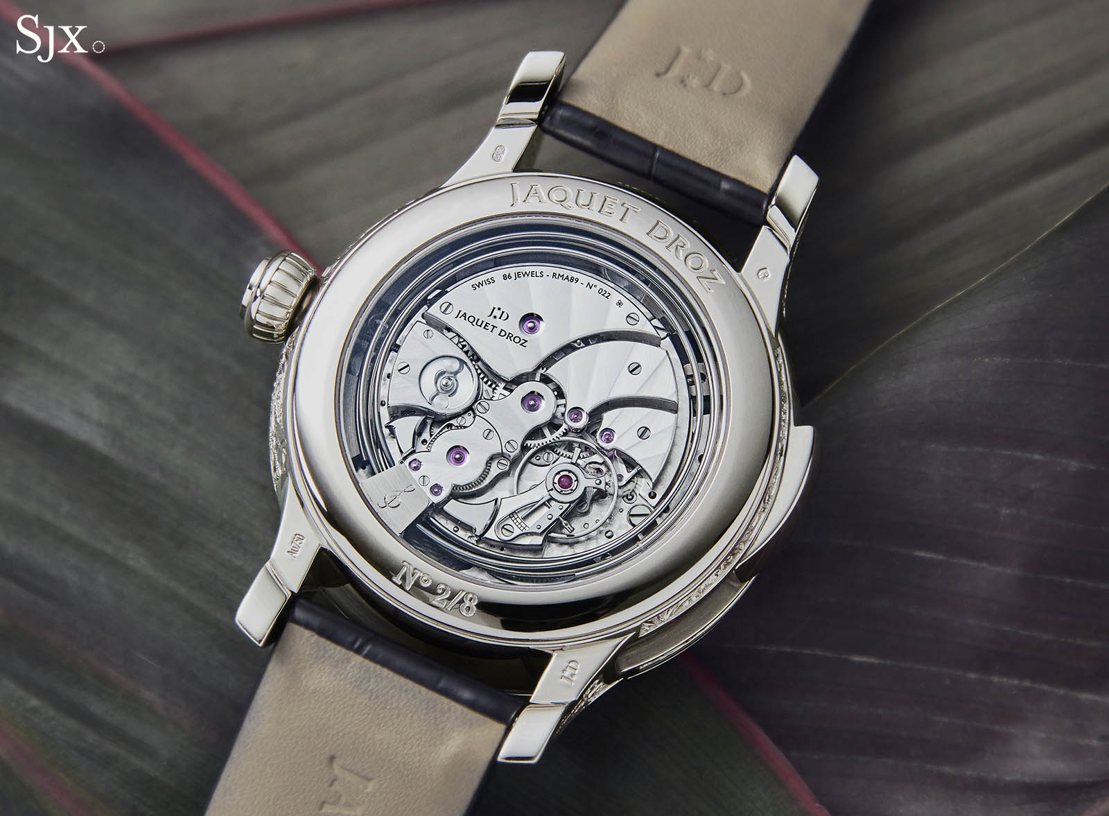 Jaquet Droz Tropical Bird Repeater 5