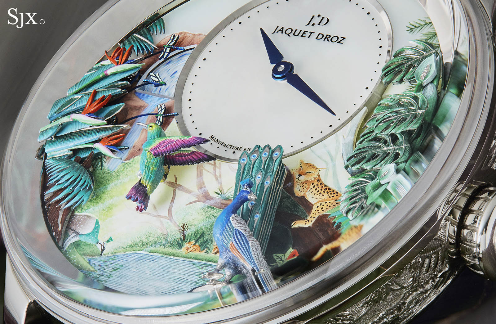 Jaquet Droz Tropical Bird Repeater 9