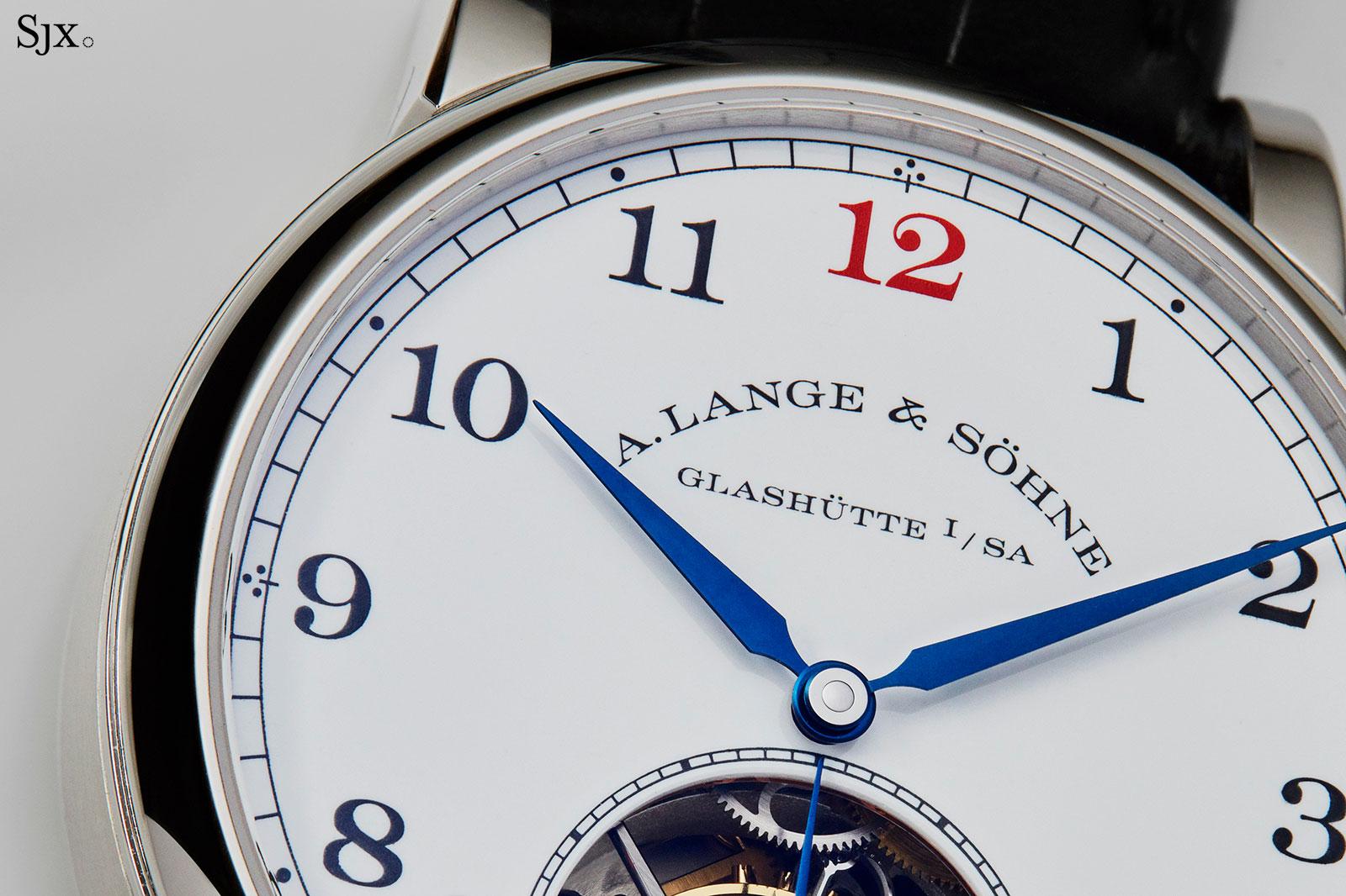 Lange 1815 Tourbillon Enamel Dial platinum 11