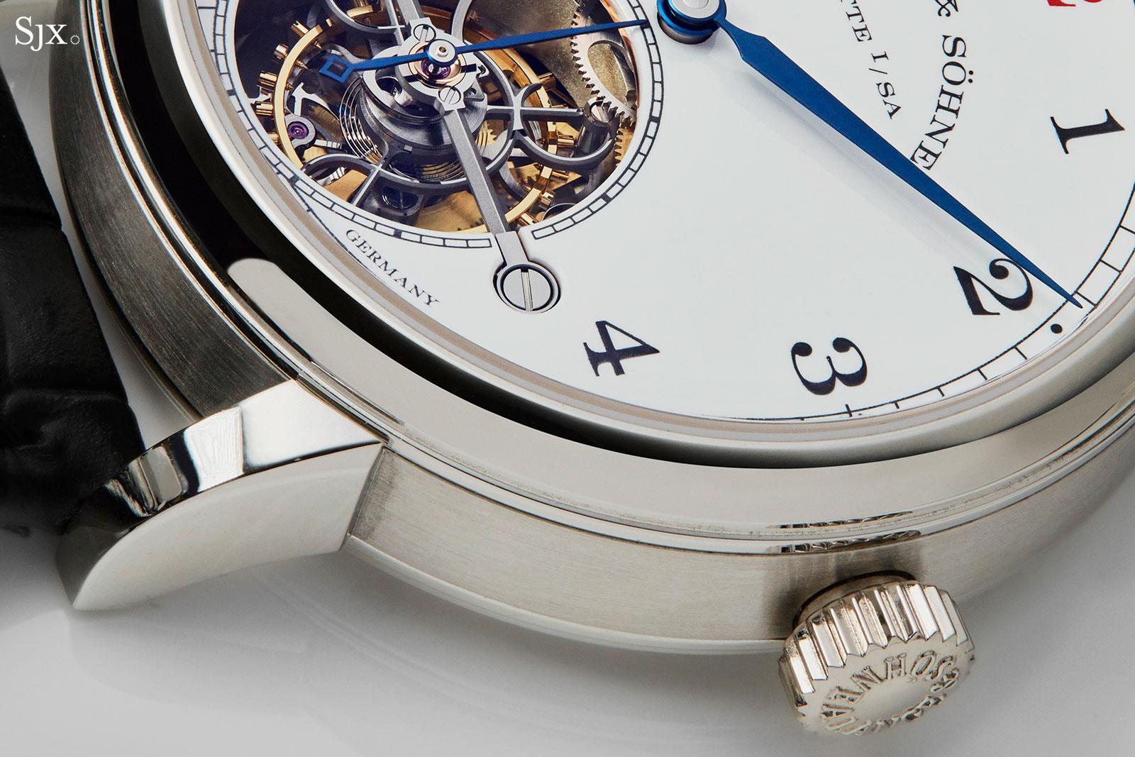 Lange 1815 Tourbillon Enamel Dial platinum 3