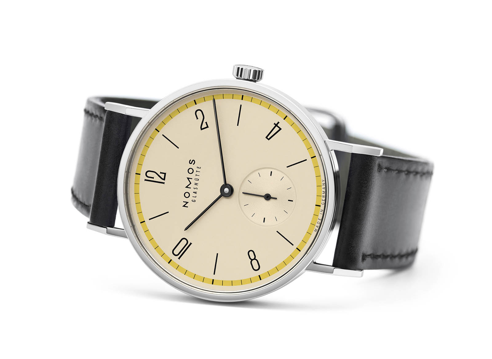 Nomos Tangente 'A Century of Bauhaus' Limited Edition Yellow