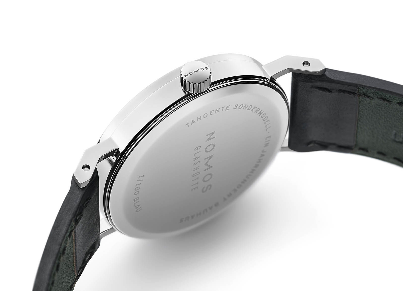 Nomos Tangente 'A Century of Bauhaus' Limited Edition caseback