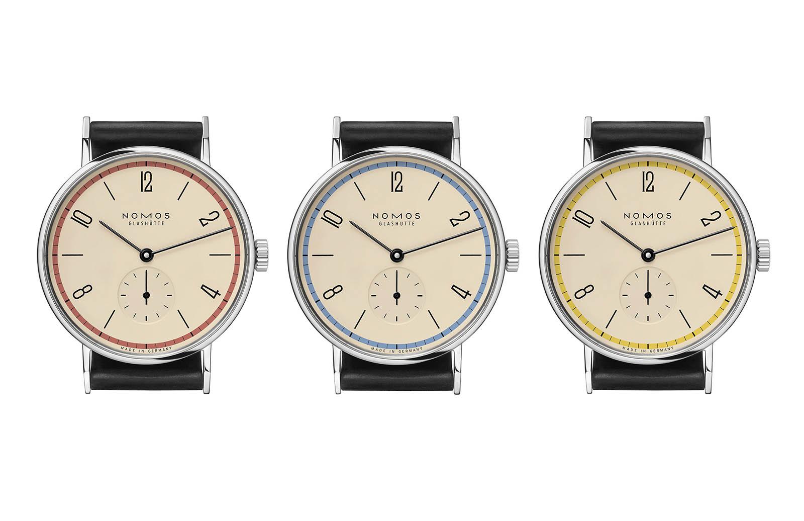 Nomos Tangente 'A Century of Bauhaus' Limited Editions