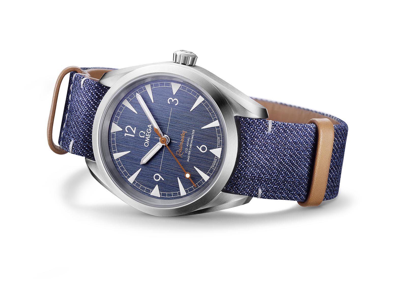 Omega Railmaster 'Denim' Co-Axial Master Chronometer 2