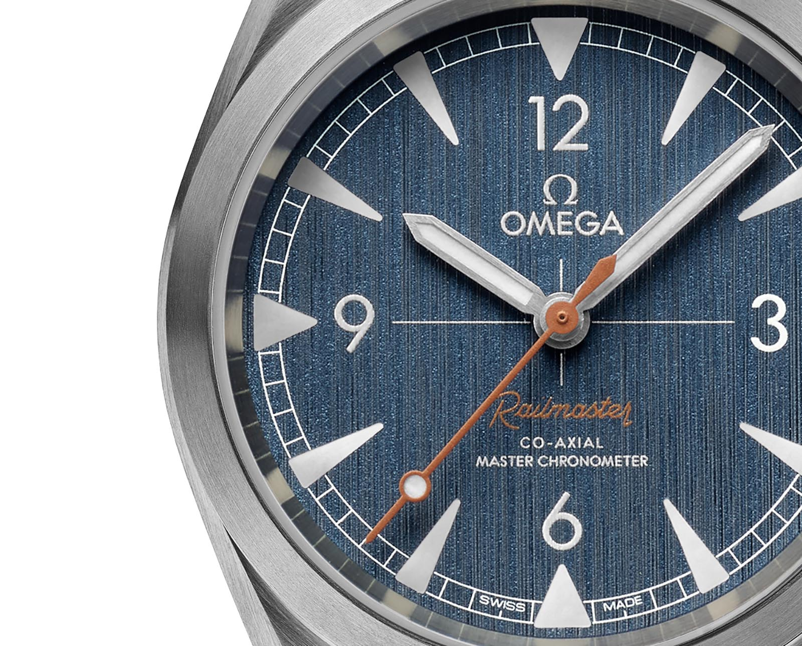 Omega Railmaster 'Denim' Co-Axial Master Chronometer 3