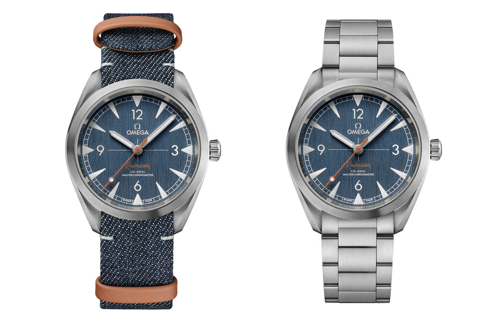 Omega Railmaster 'Denim' Co-Axial Master Chronometer 6