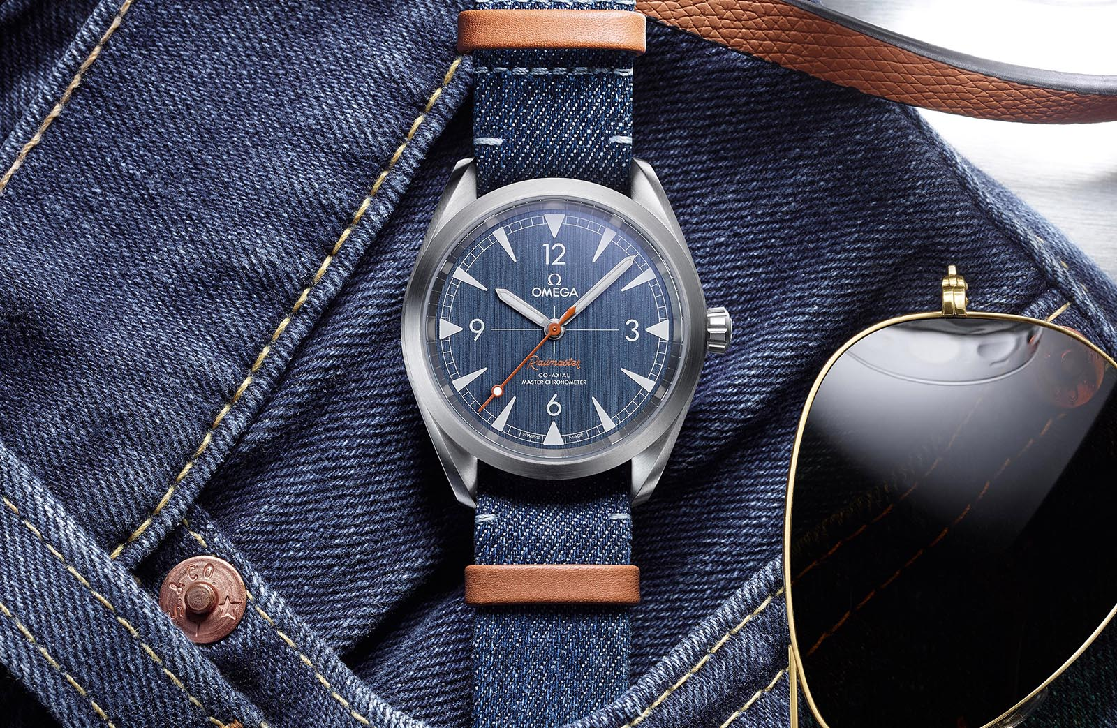 Omega Railmaster 'Denim' Co-Axial Master Chronometer