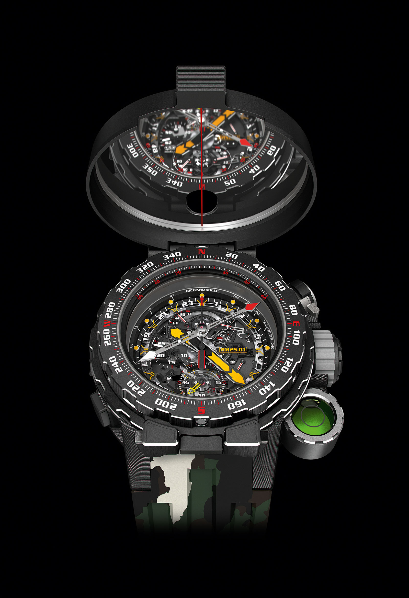 Richard Mille RM 25-01 Tourbillon Compass Stallone 1