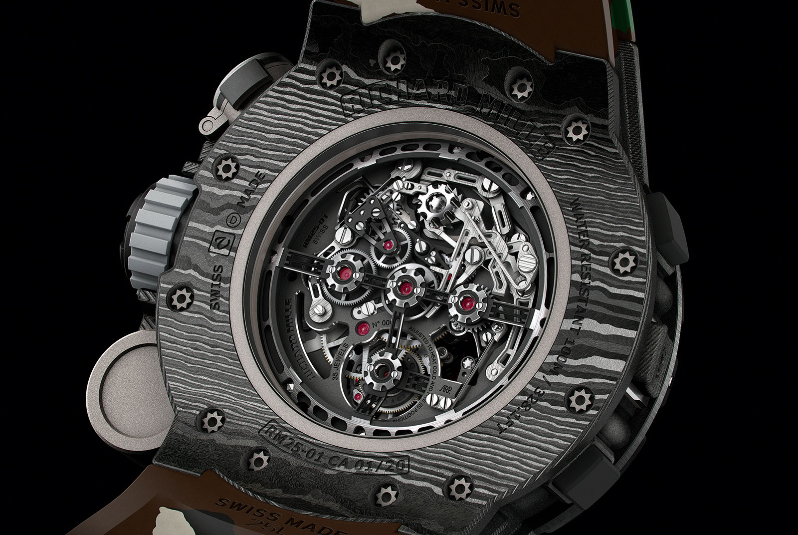 Richard Mille RM 25-01 Tourbillon Compass Stallone 2