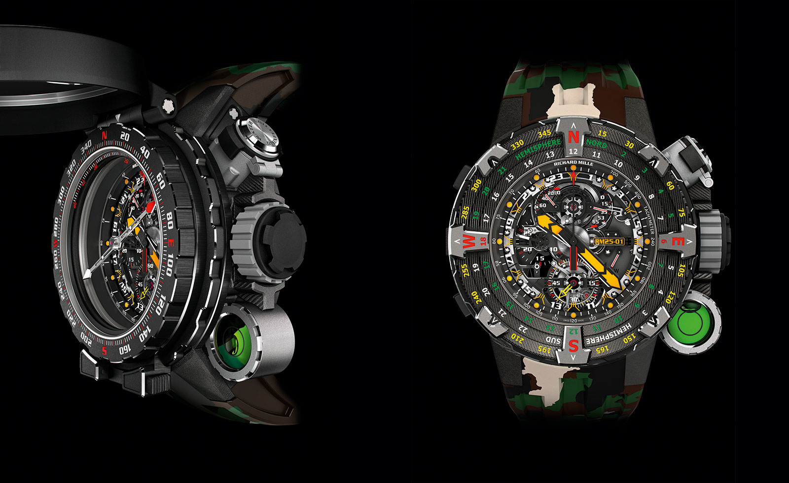 Richard Mille RM 25-01 Tourbillon Compass Stallone 6