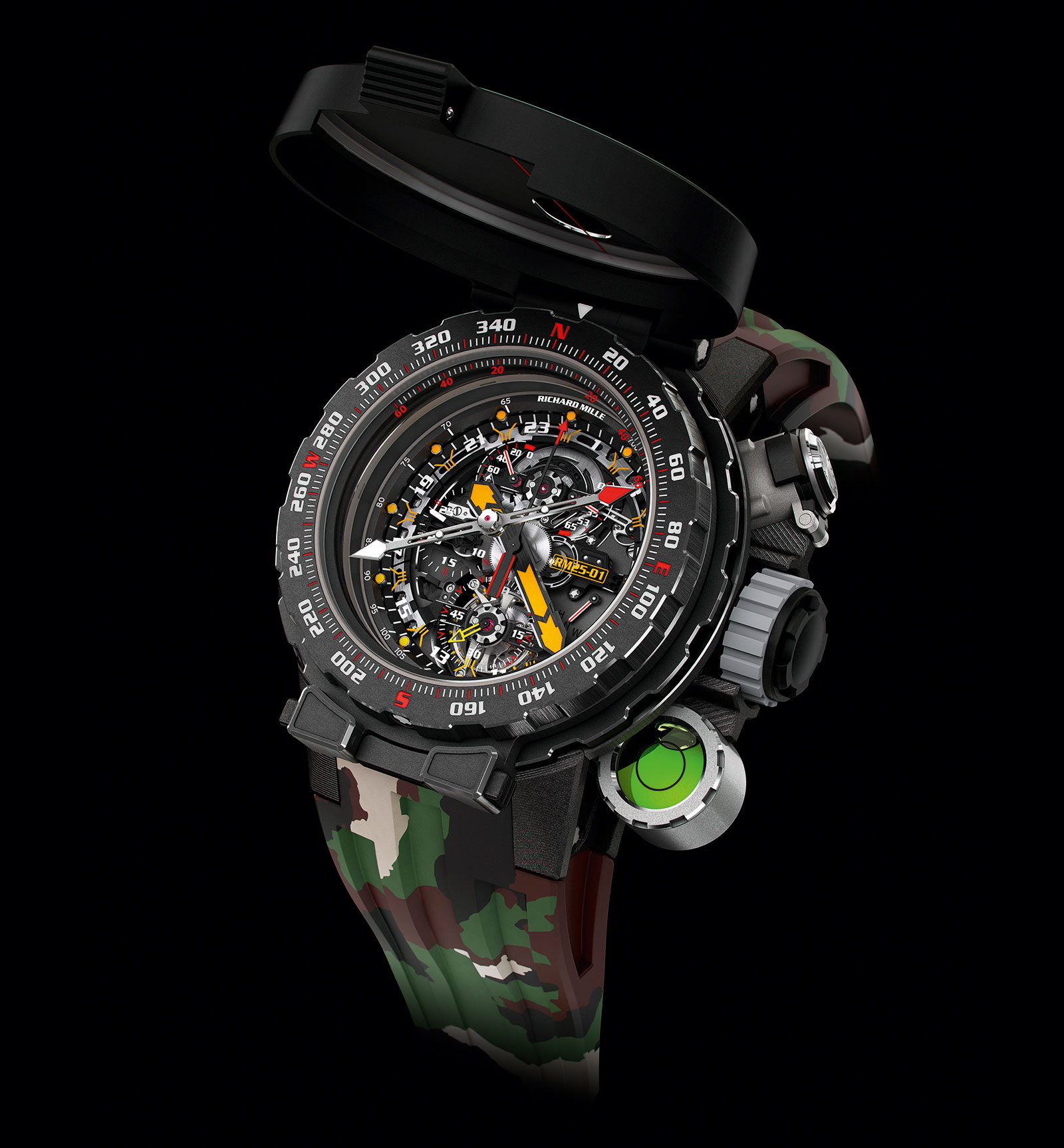 Richard Mille RM 25-01 Tourbillon Compass Stallone 7