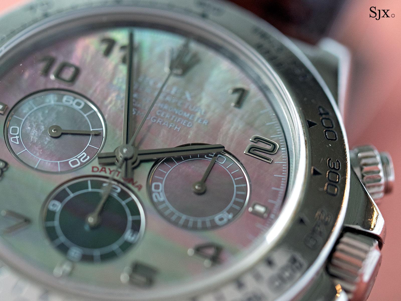 Rolex Daytona Zenith platinum 16516 2