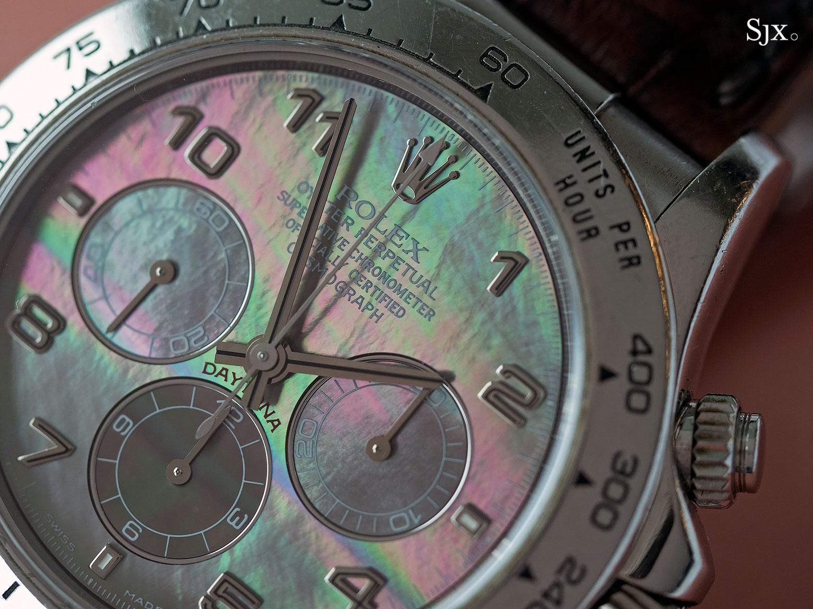 Rolex Daytona Zenith platinum 16516 3