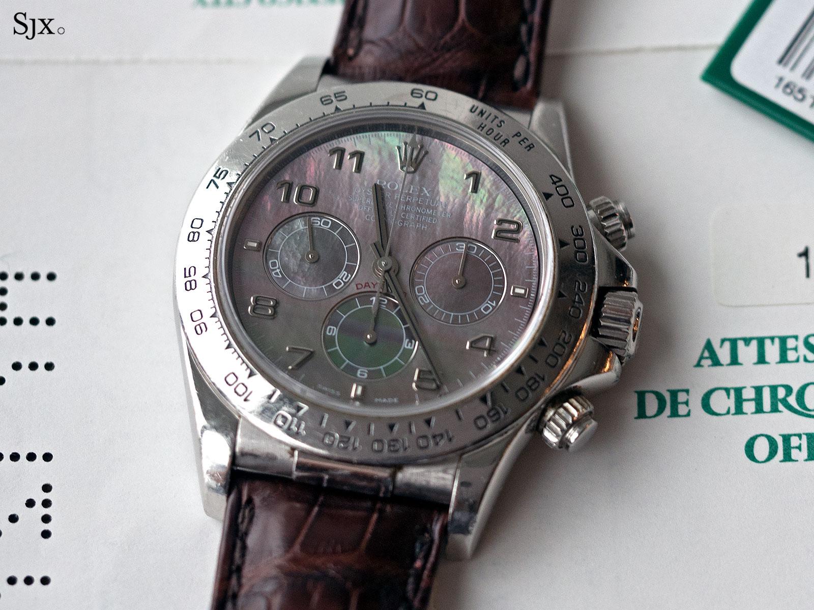 Rolex Daytona Zenith platinum 16516 5