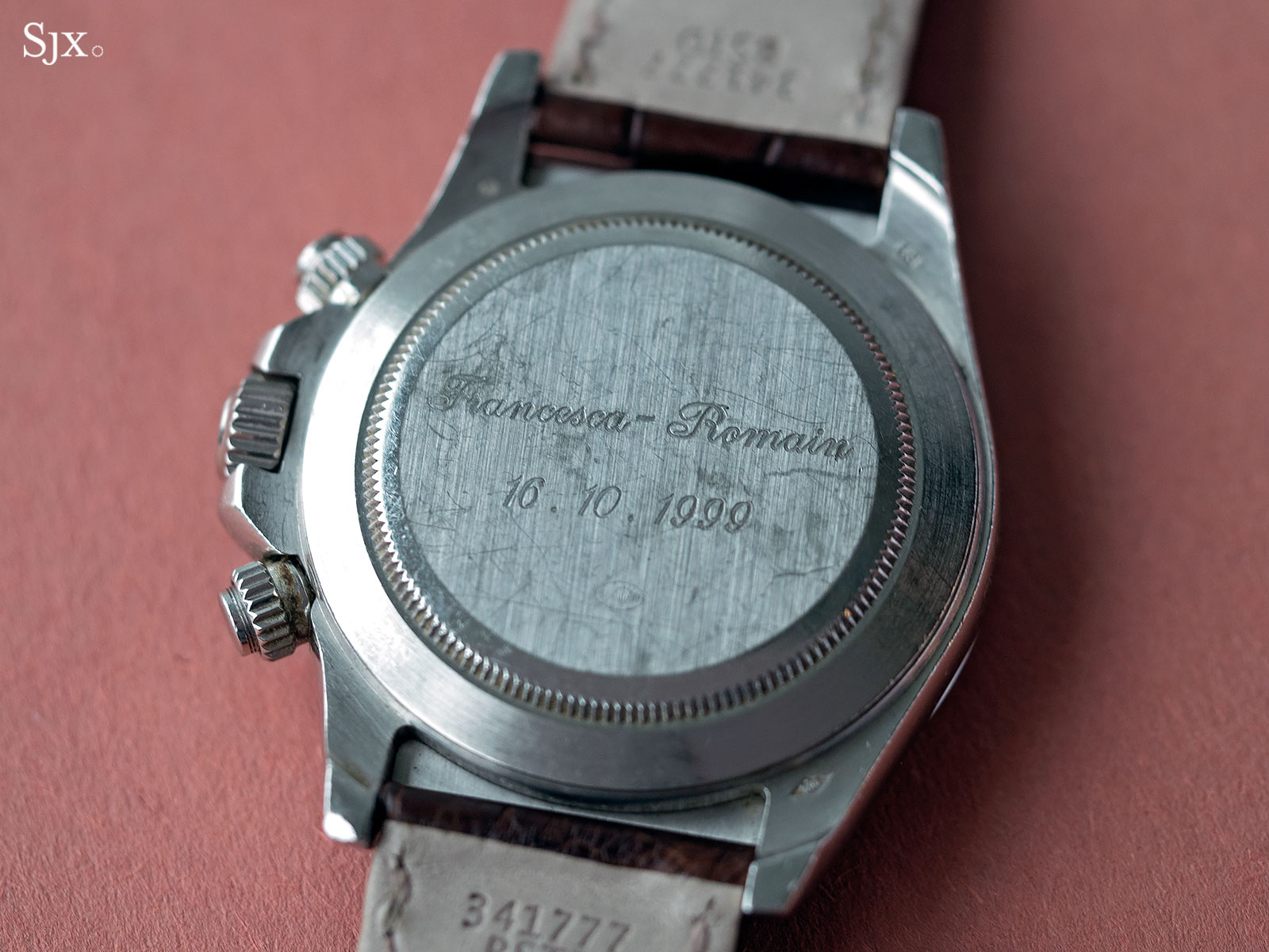 Rolex Daytona Zenith platinum Patrick Heiniger 1