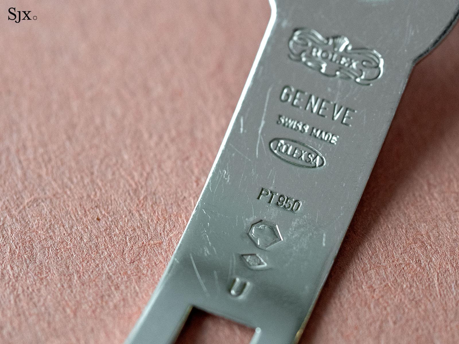 Rolex Daytona Zenith platinum Patrick Heiniger 10