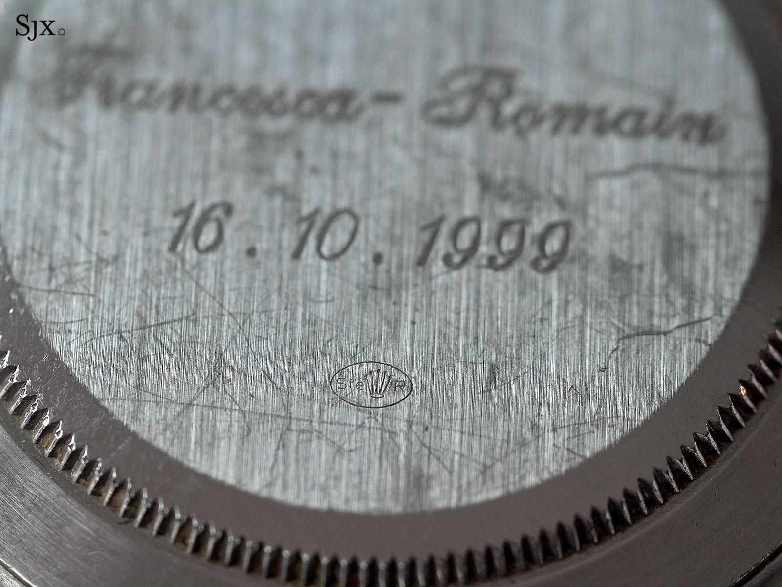 Rolex Daytona Zenith platinum Patrick Heiniger 3