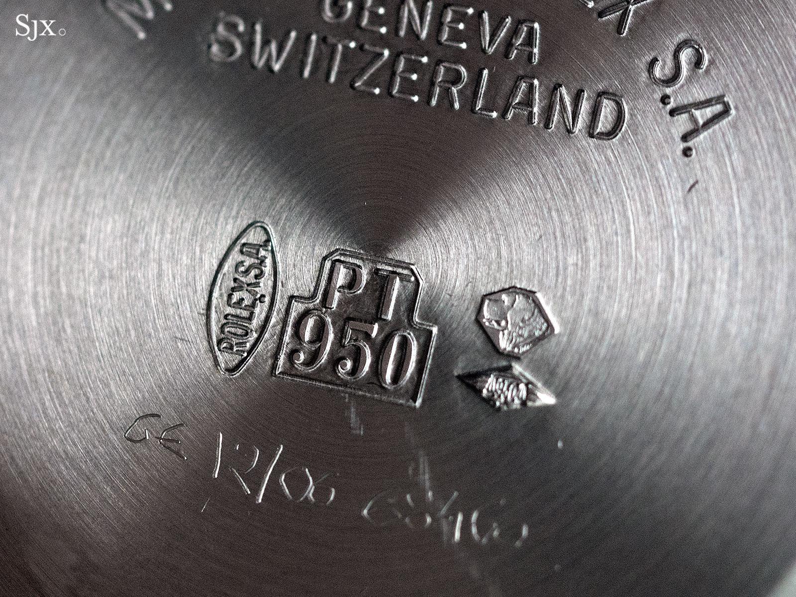 Rolex Daytona Zenith platinum unique piece 7