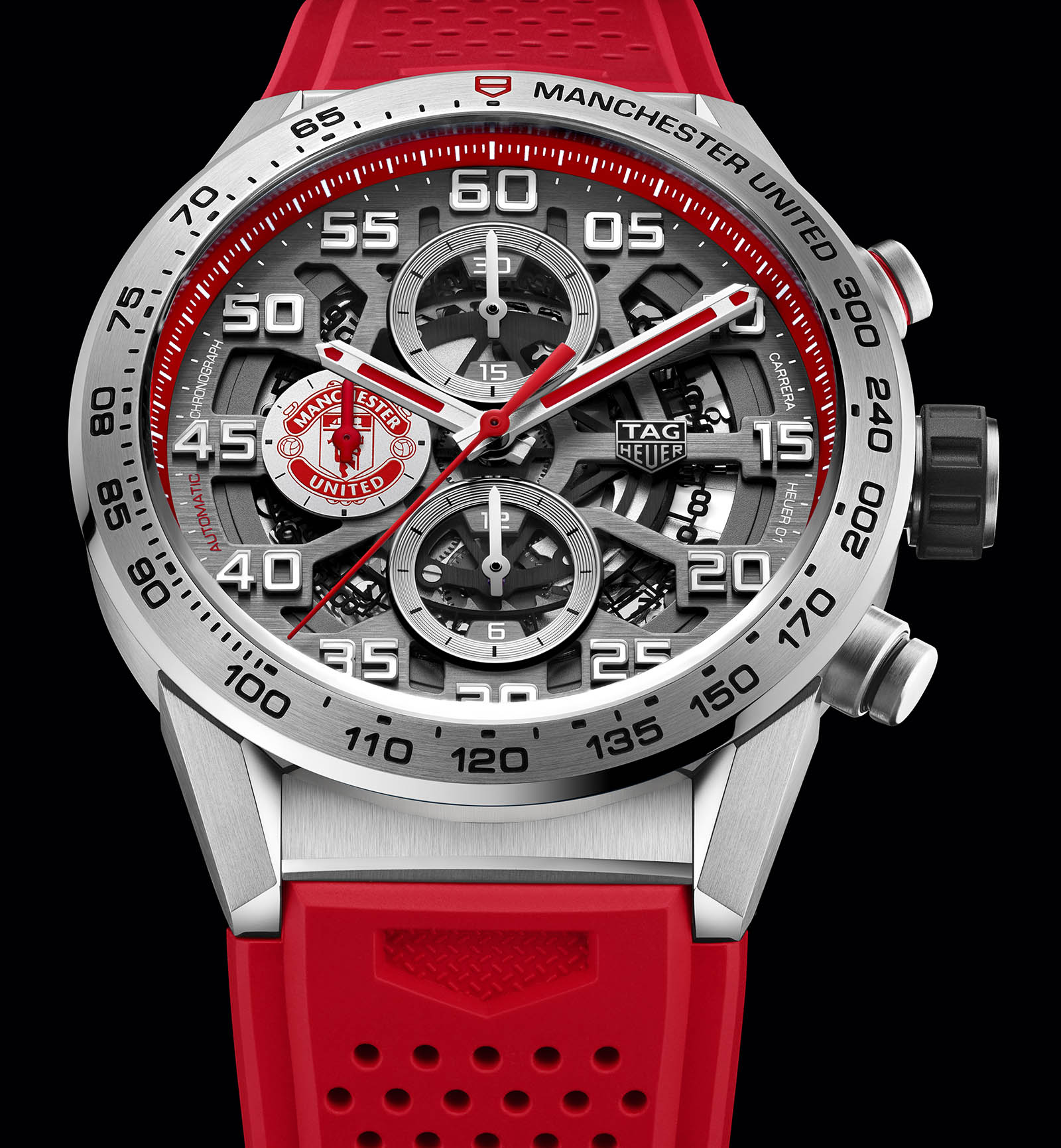 TAG Heuer Carrera Heuer 01 Manchester United 2018 Edition 2