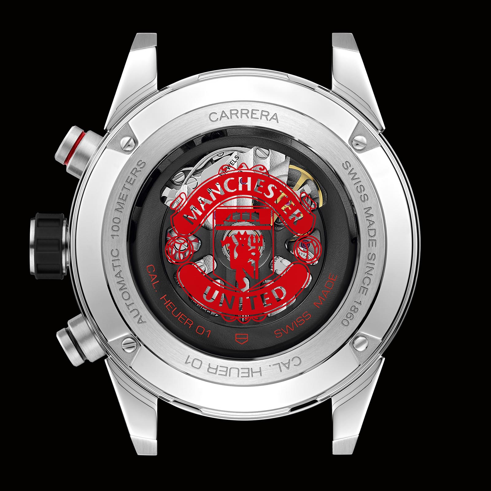 TAG Heuer Carrera Heuer 01 Manchester United 2018 Edition 3