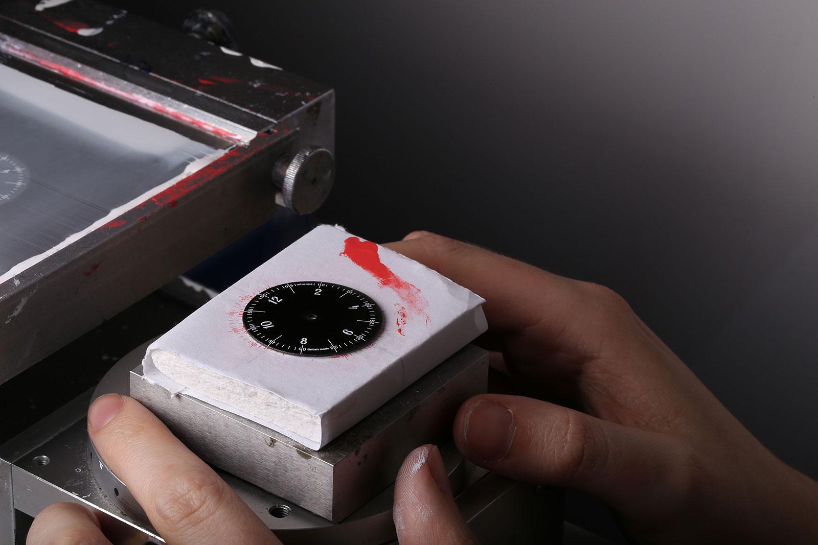 Anordain Model 1 enamel dial watch 1