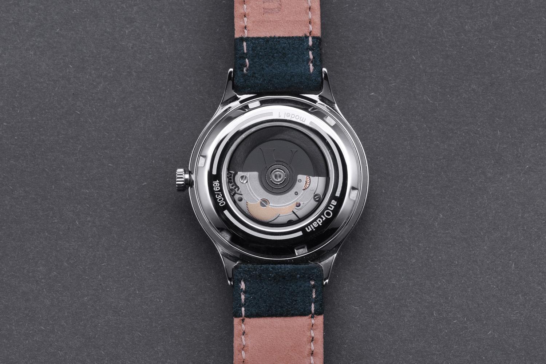Anordain Model 1 enamel dial watch 4