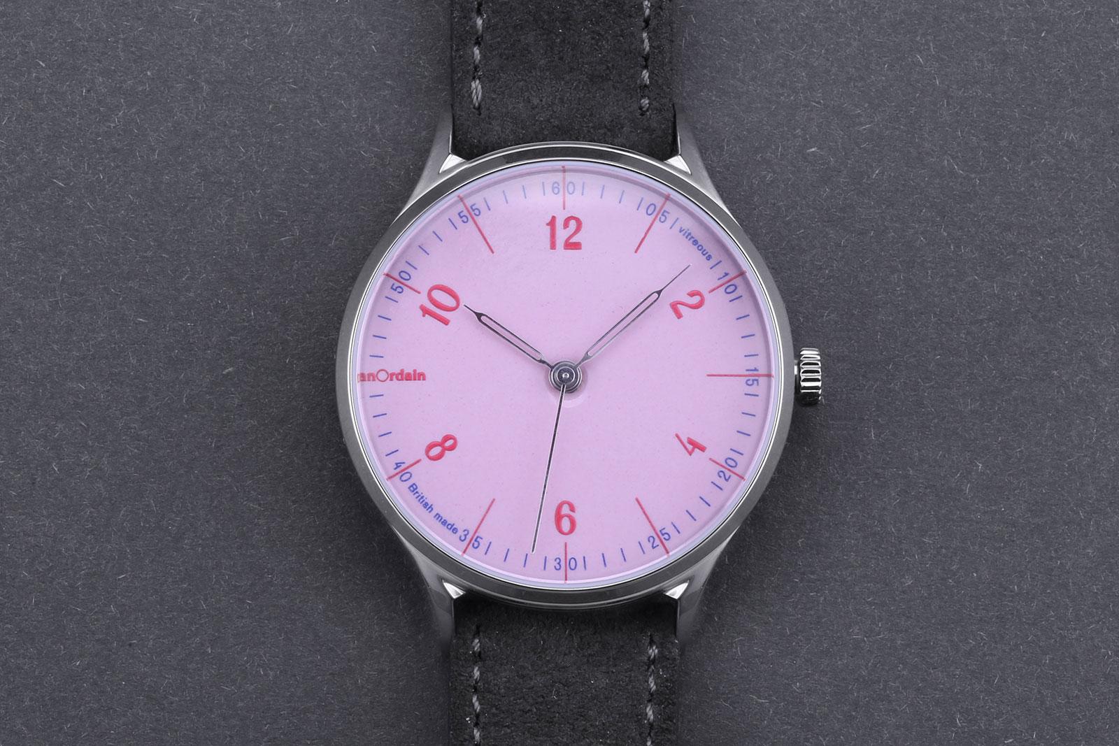 Anordain Model 1 enamel dial watch 5