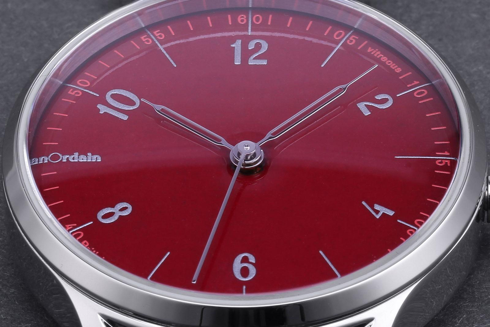 Anordain Model 1 enamel dial watch 7