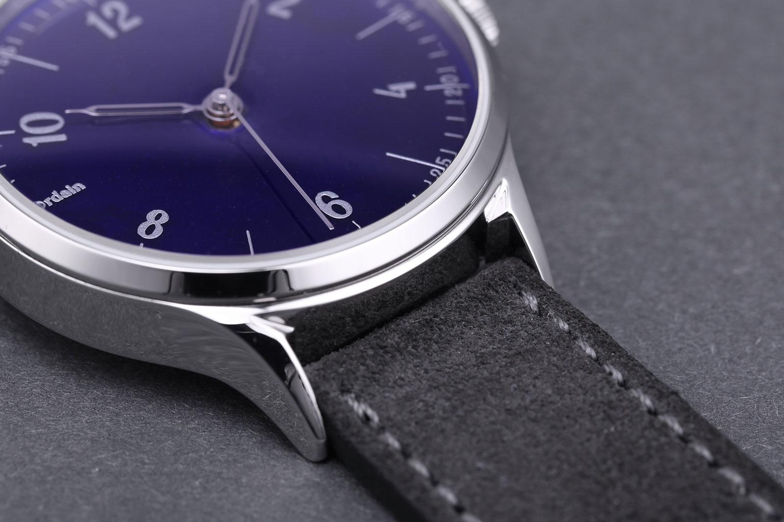 Anordain Model 1 enamel dial watch 8