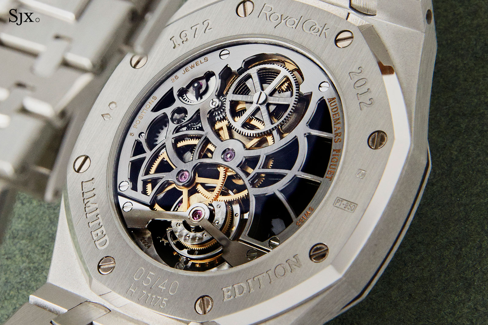 Audemars Piguet Royal Oak Tourbillon 40th Anniversary 3