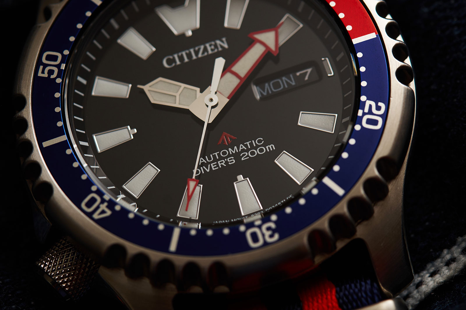 Citizen Promaster Asia edition diver watch 1
