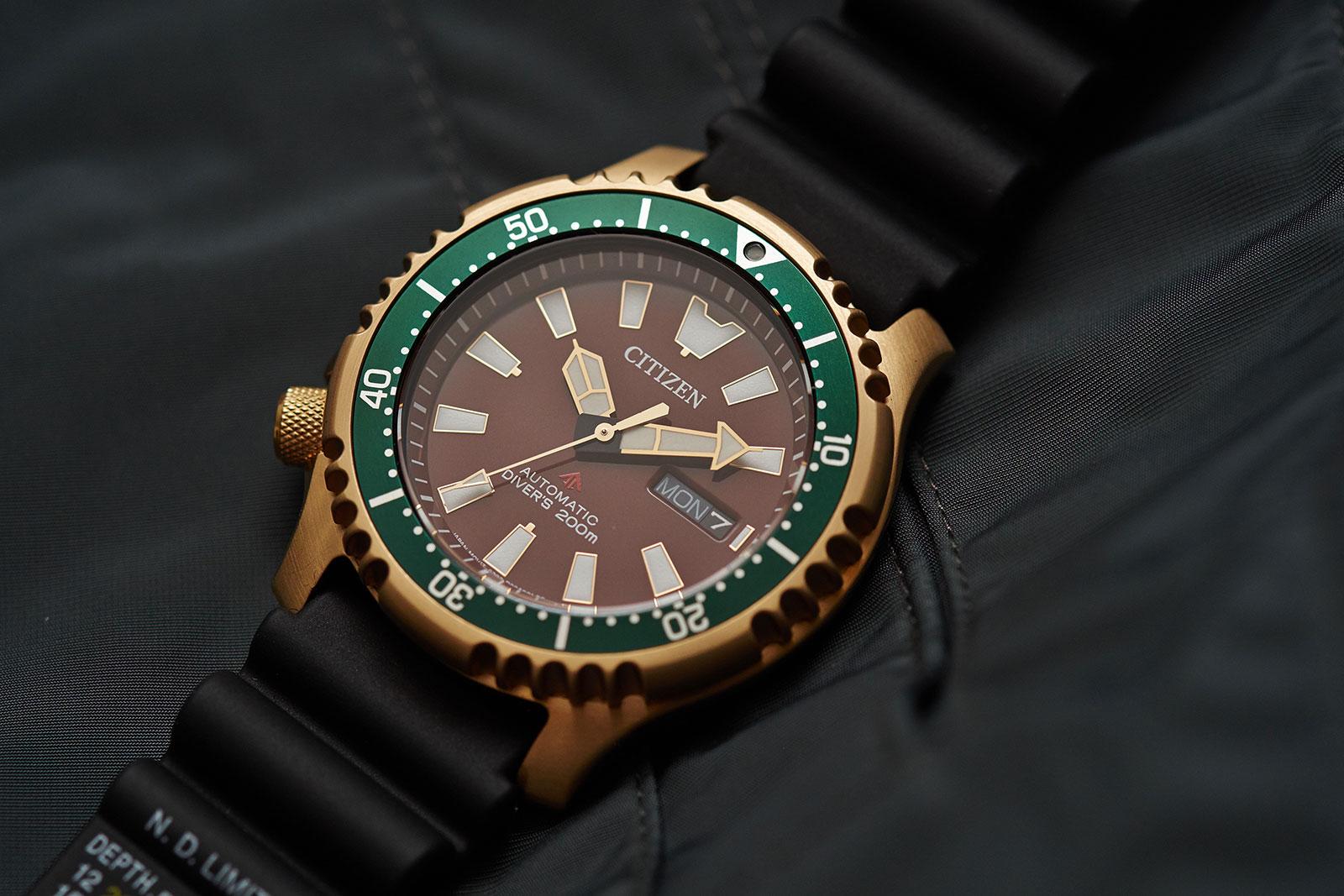 Citizen Promaster Asia edition diver watch 4