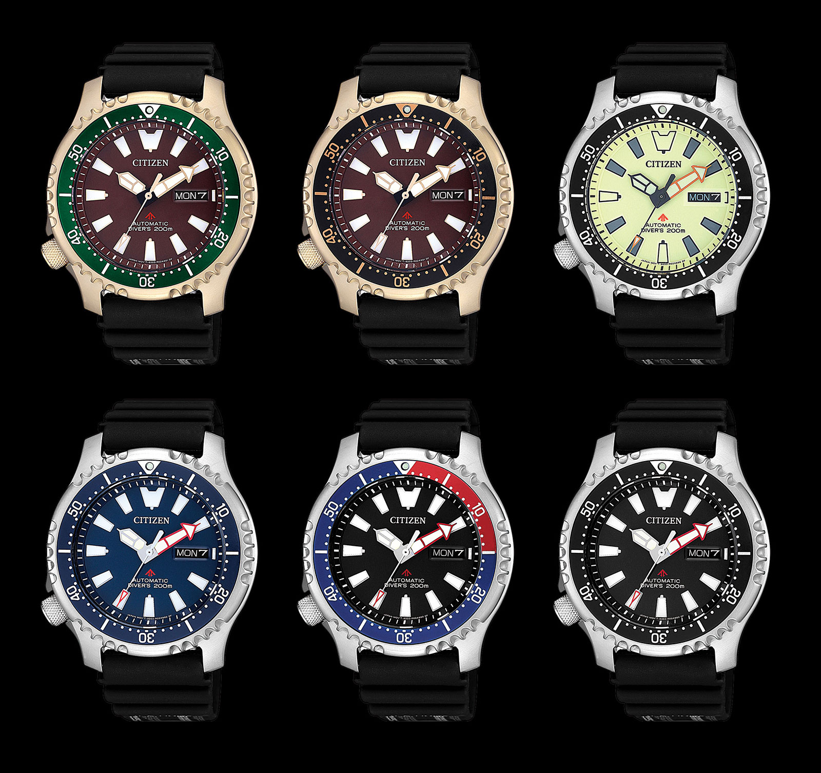 Citizen Promaster Asia edition diver watch 5