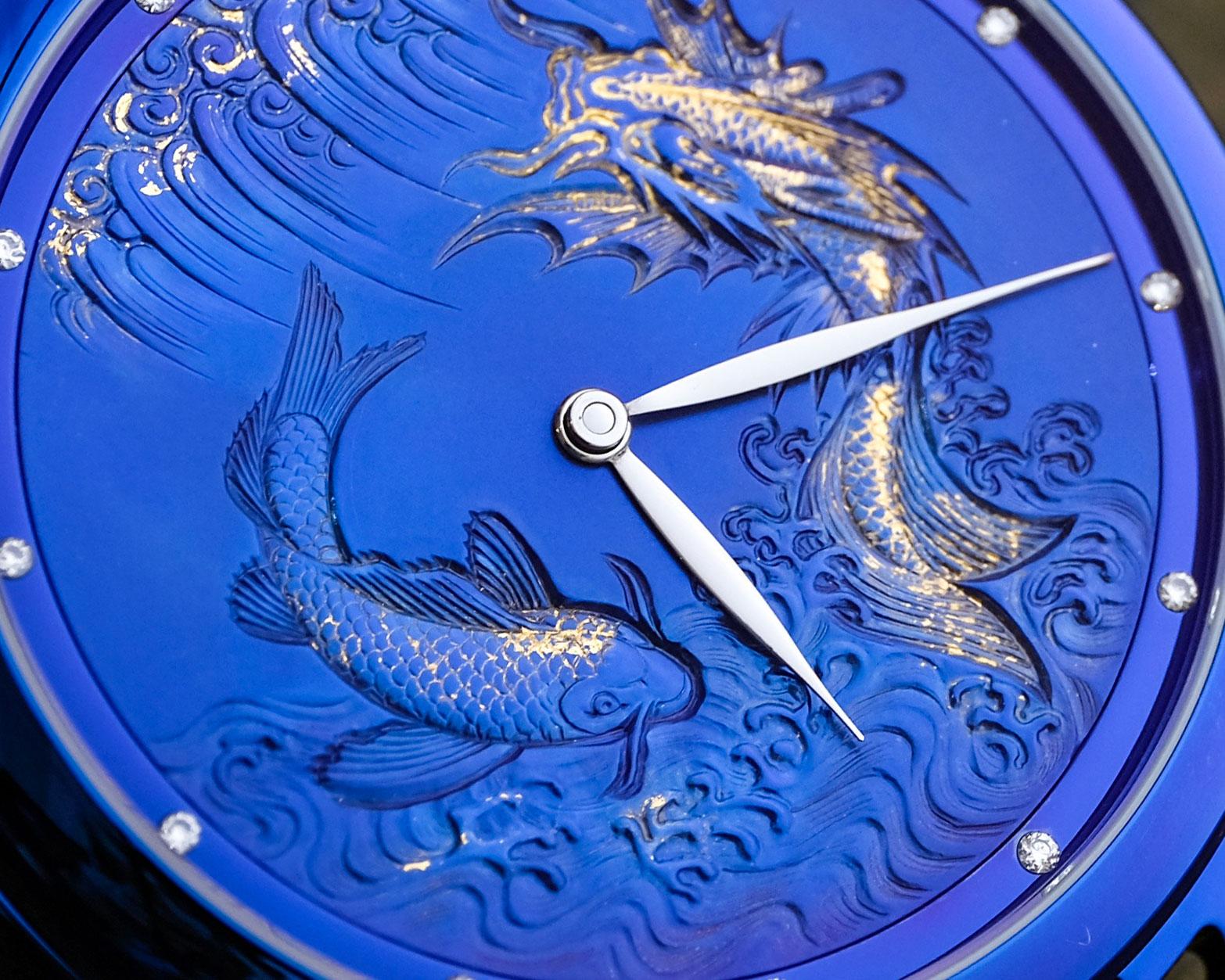 De Bethune Maestri Art II blue 2