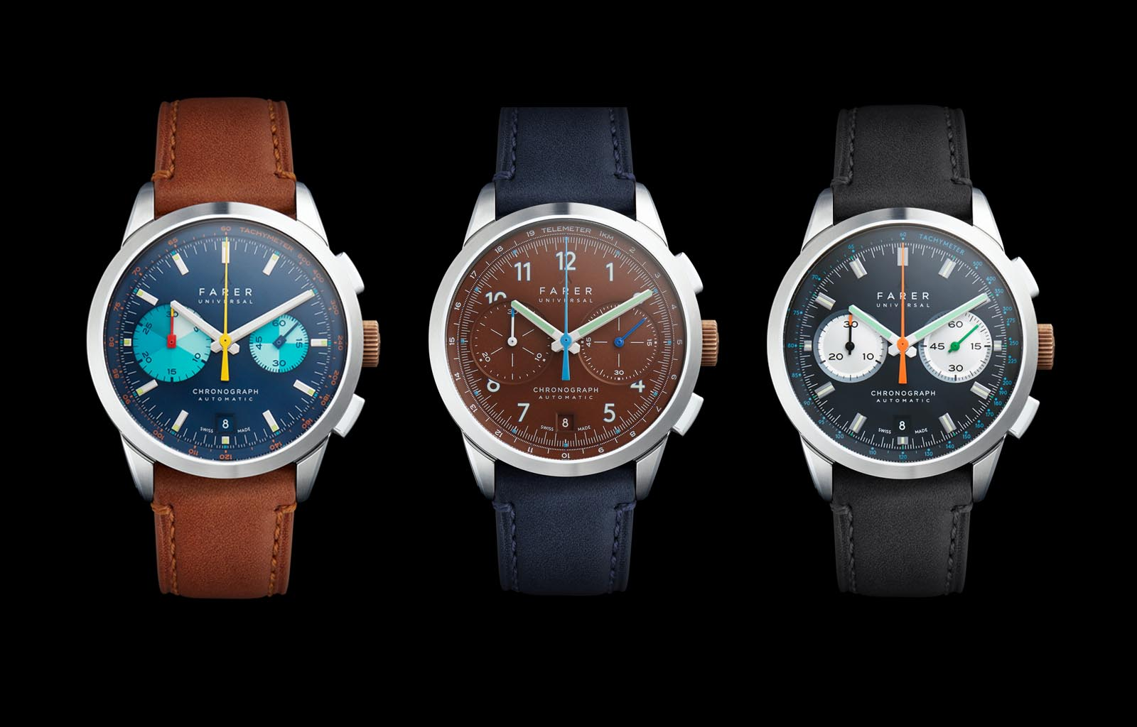 Introducing the Farer Automatic Chronograph