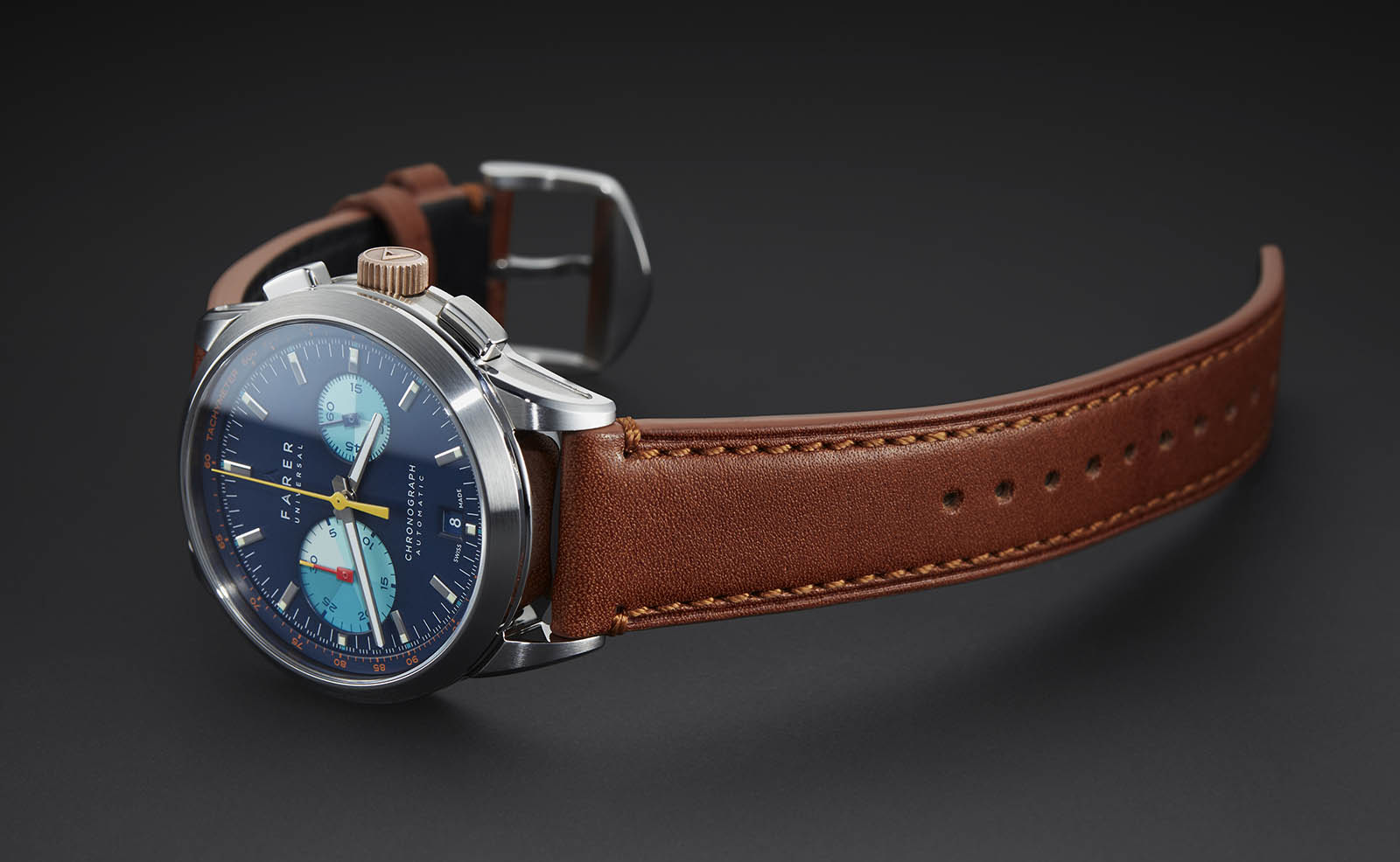 Farer Automatic Chronograph Hoween Strap