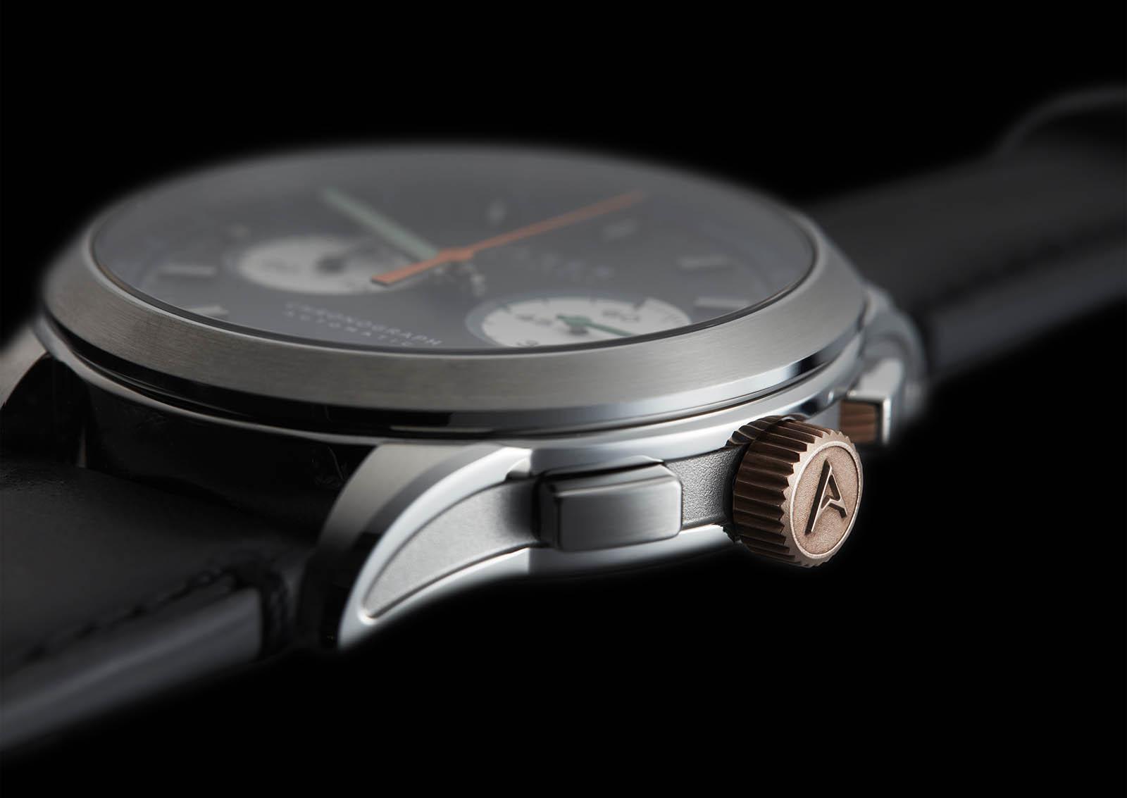 Farer Automatic Chronograph case
