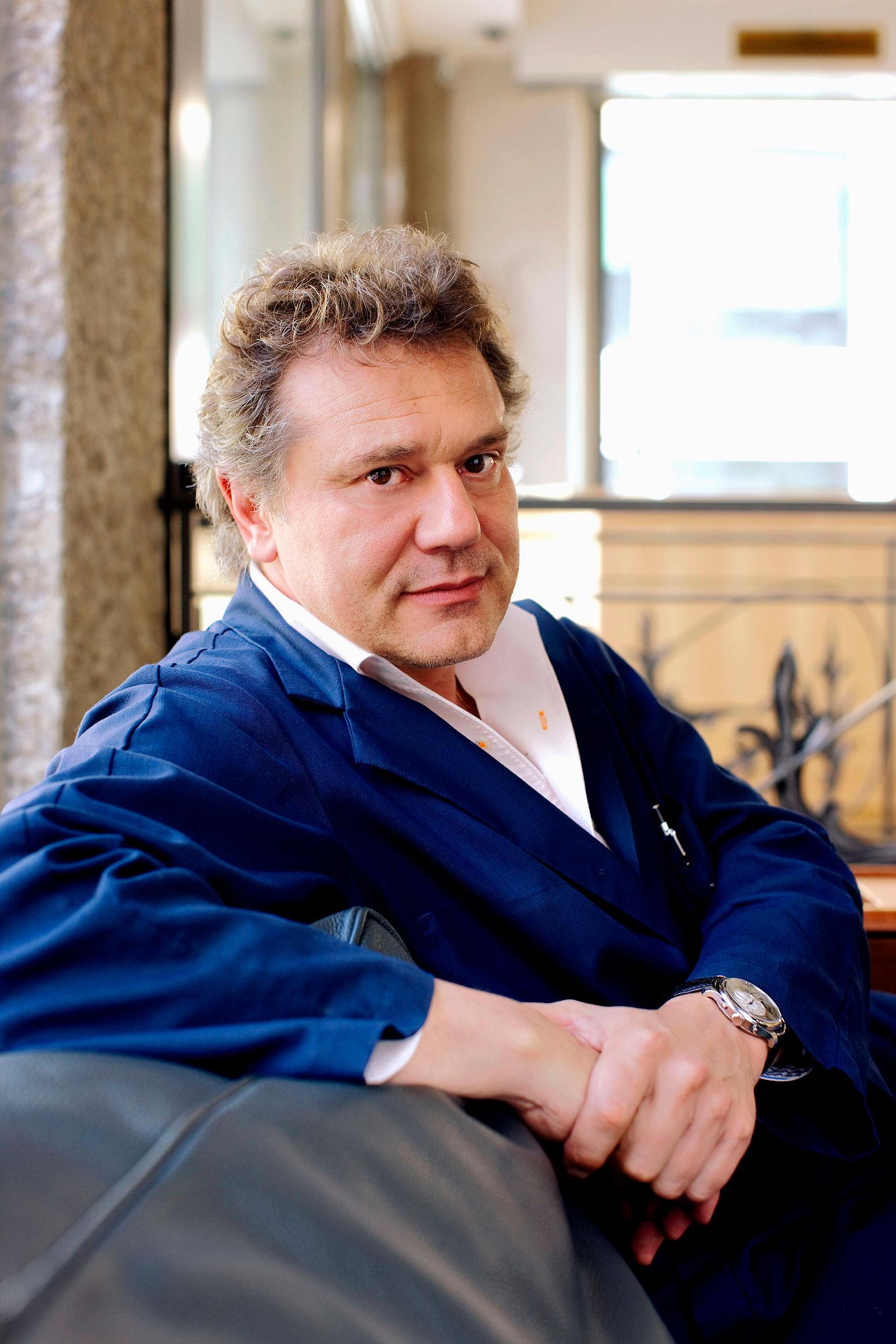 Francois Paul Journe portrait