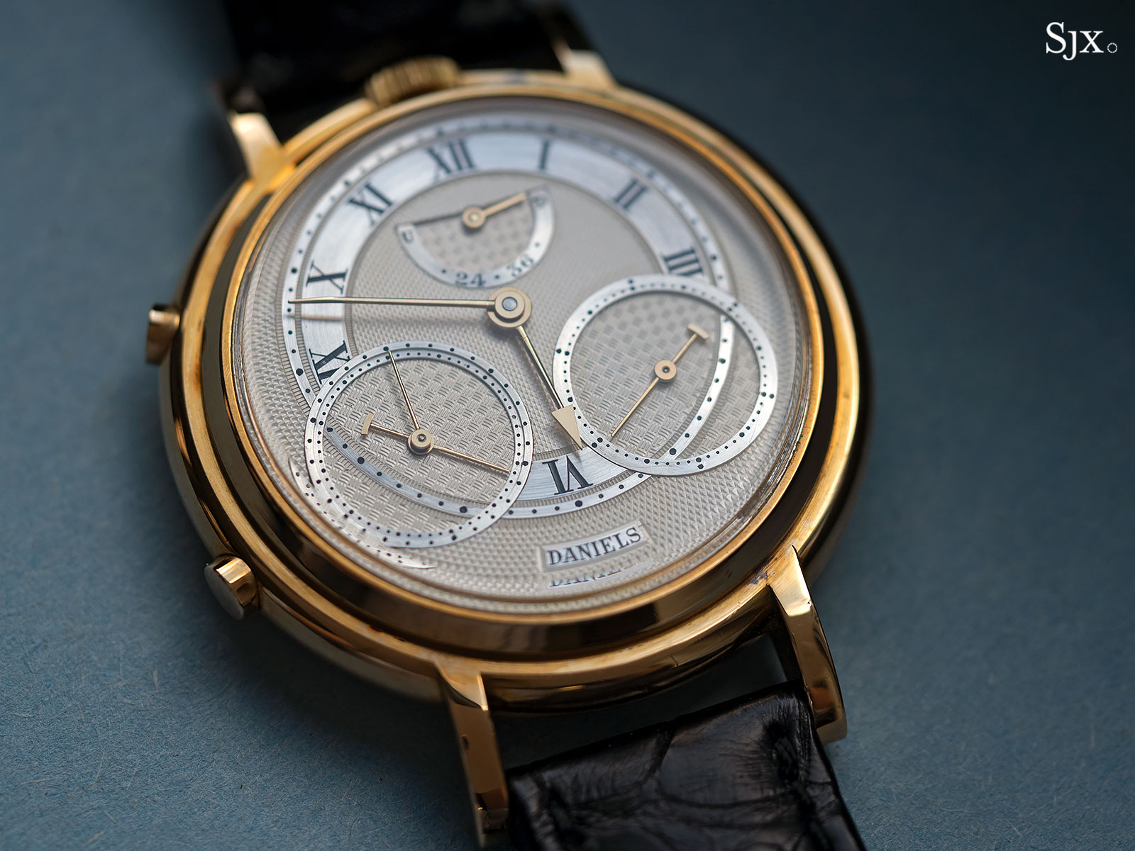 George Daniels Chronograph Wristwatch with tourbillon 1