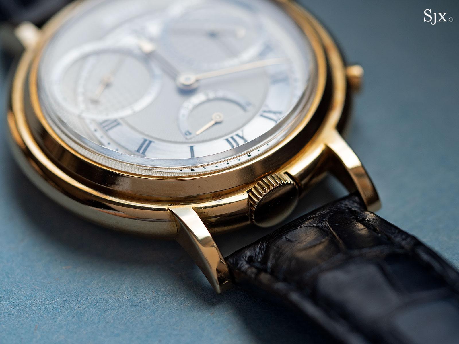 George Daniels Chronograph Wristwatch with tourbillon 11