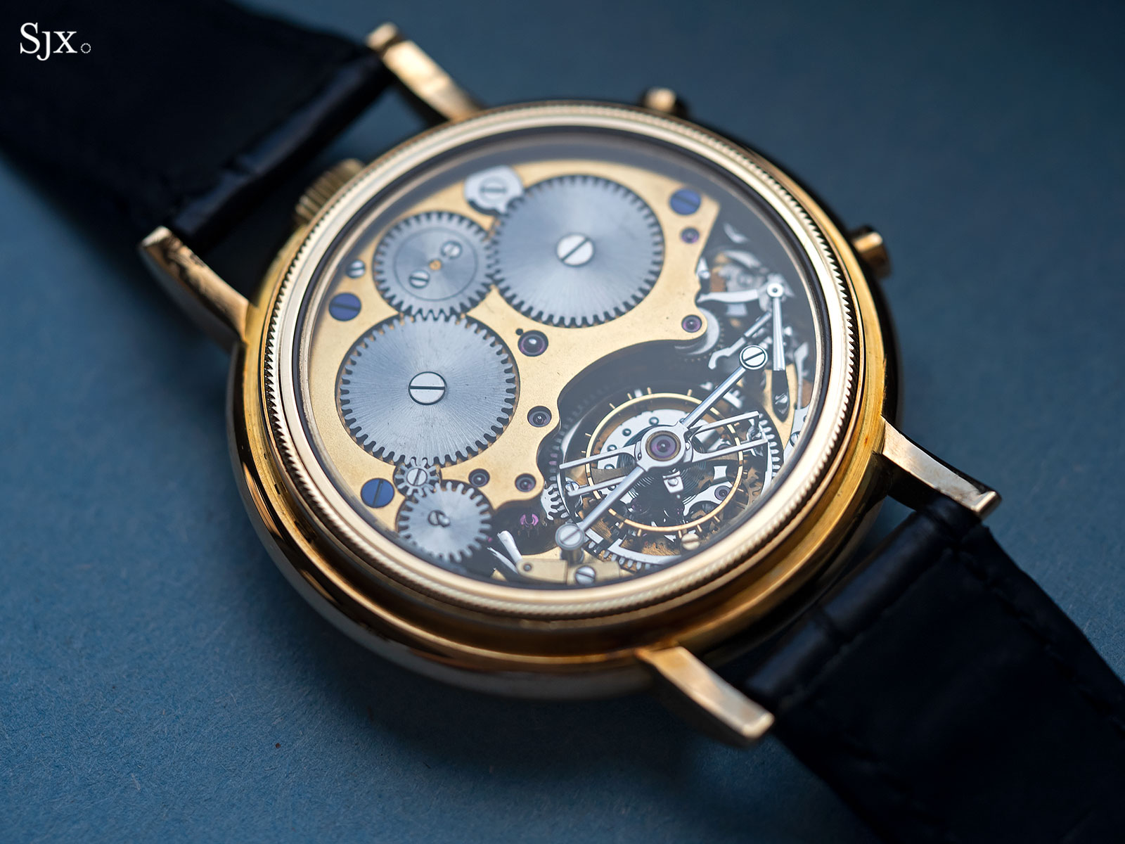 George Daniels Chronograph Wristwatch with tourbillon 12