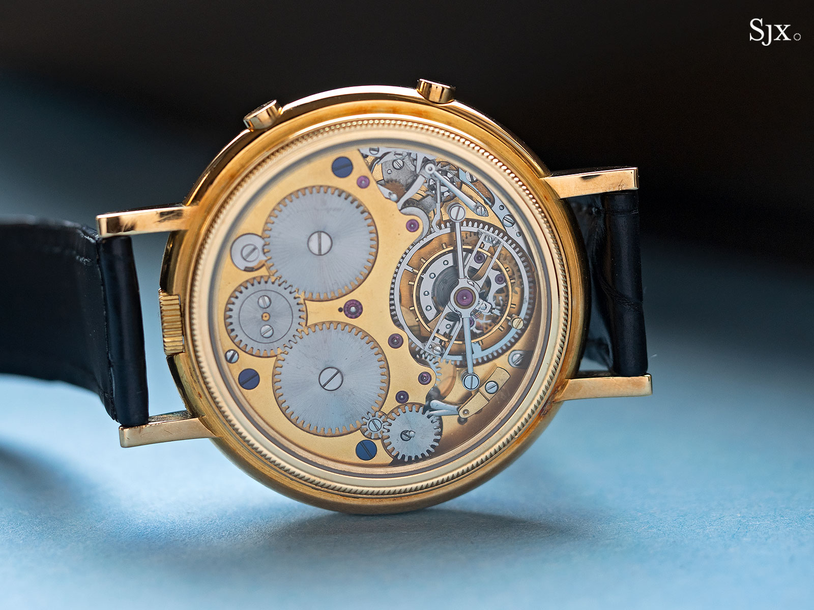 George Daniels Chronograph Wristwatch with tourbillon 13