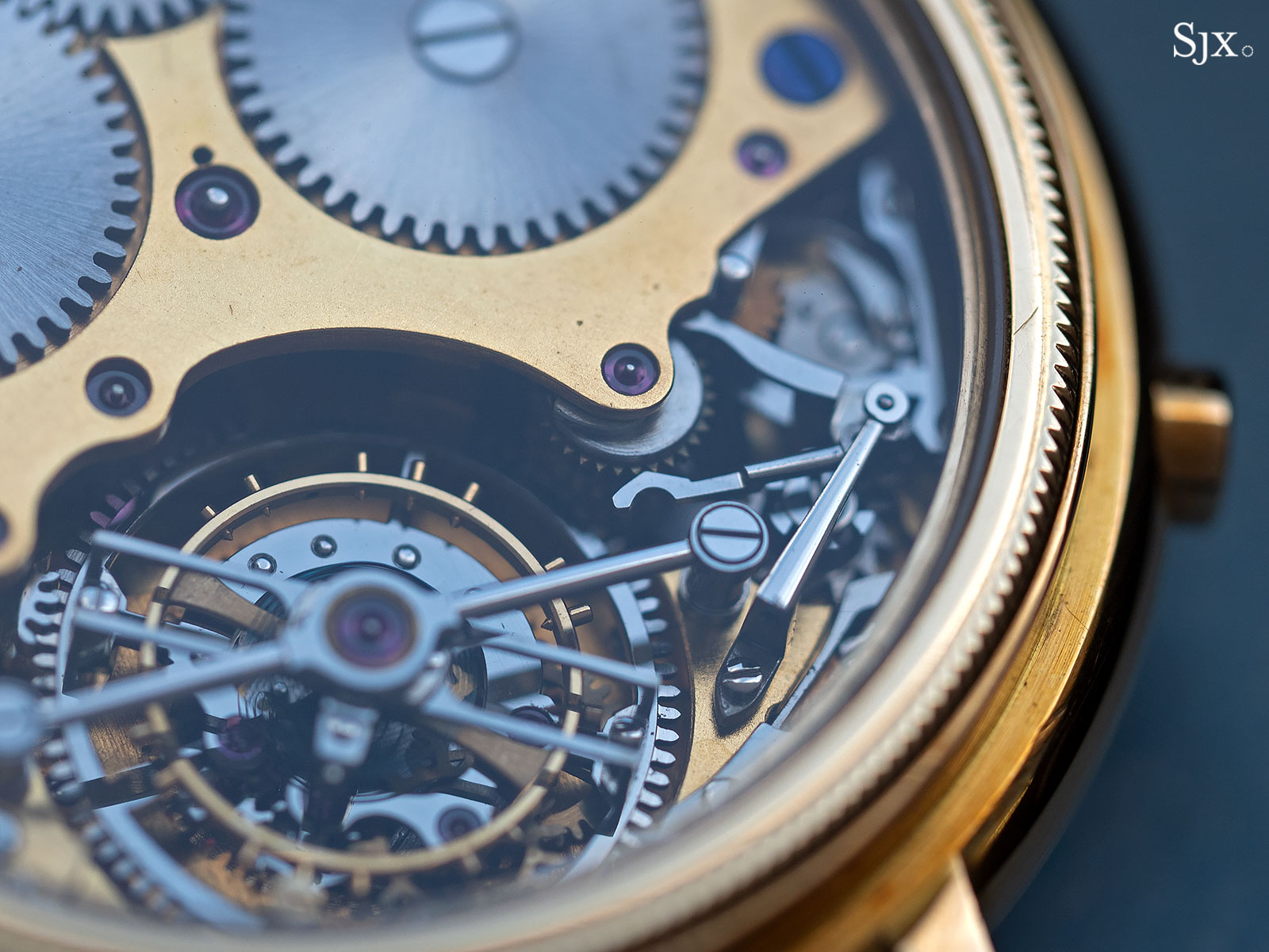 George Daniels Chronograph Wristwatch with tourbillon 14