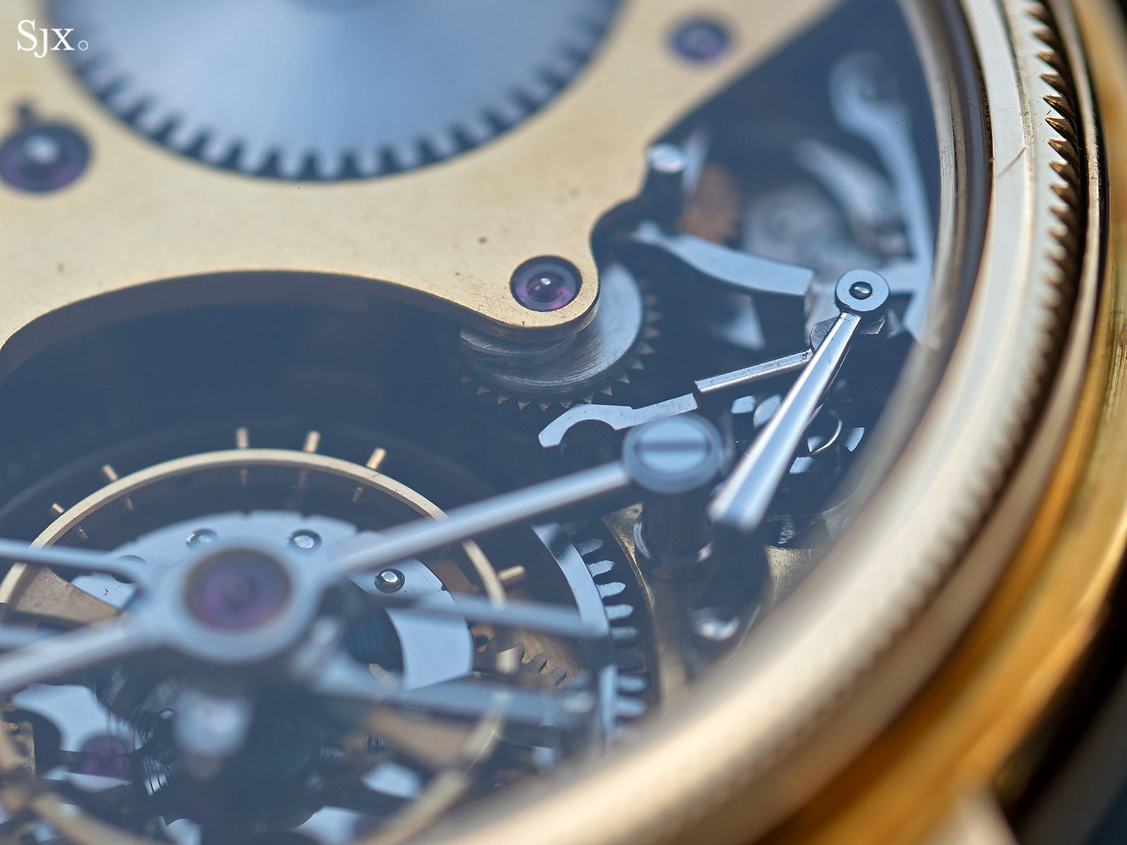 George Daniels Chronograph Wristwatch with tourbillon 15