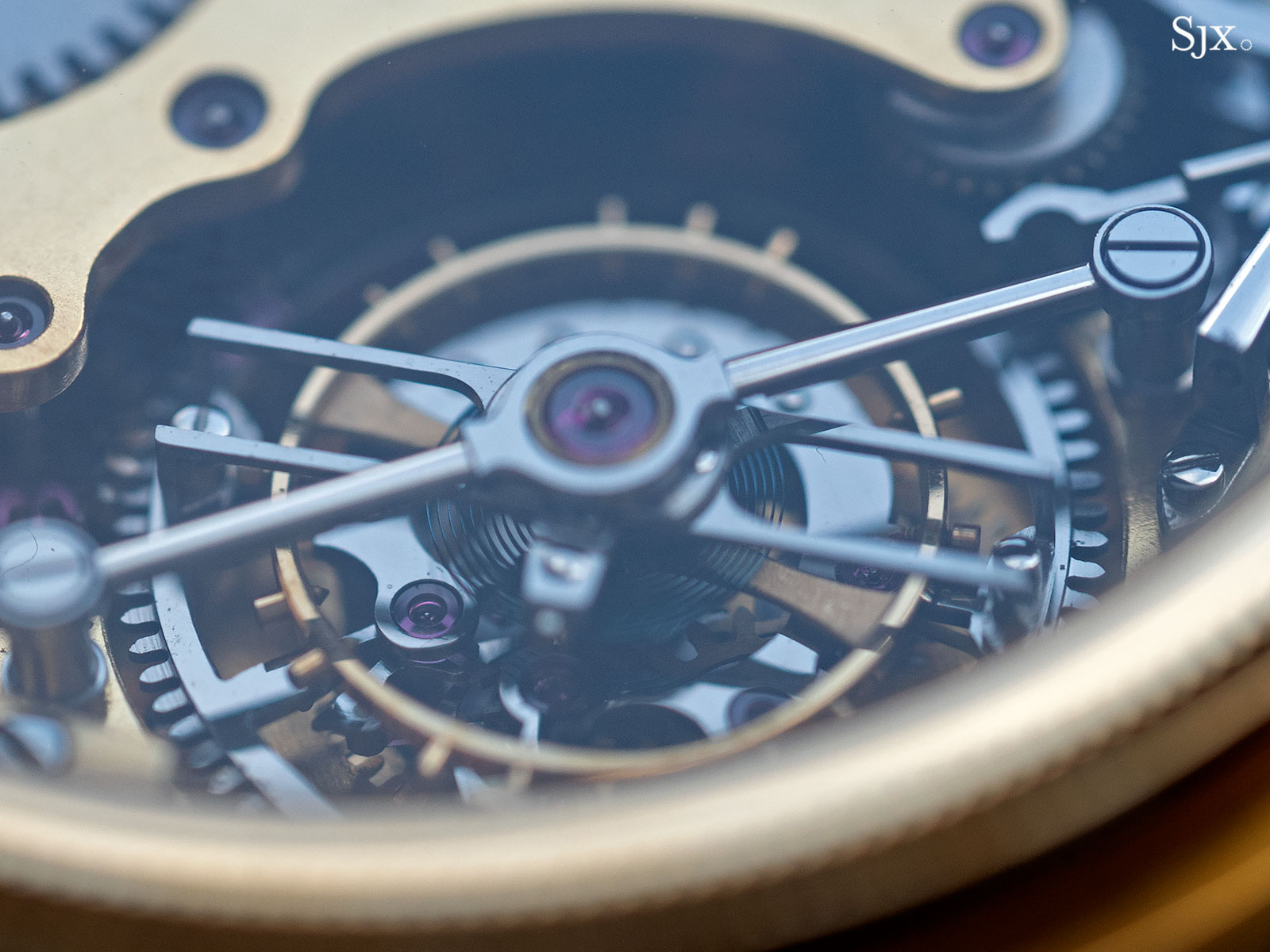 George Daniels Chronograph Wristwatch with tourbillon 16