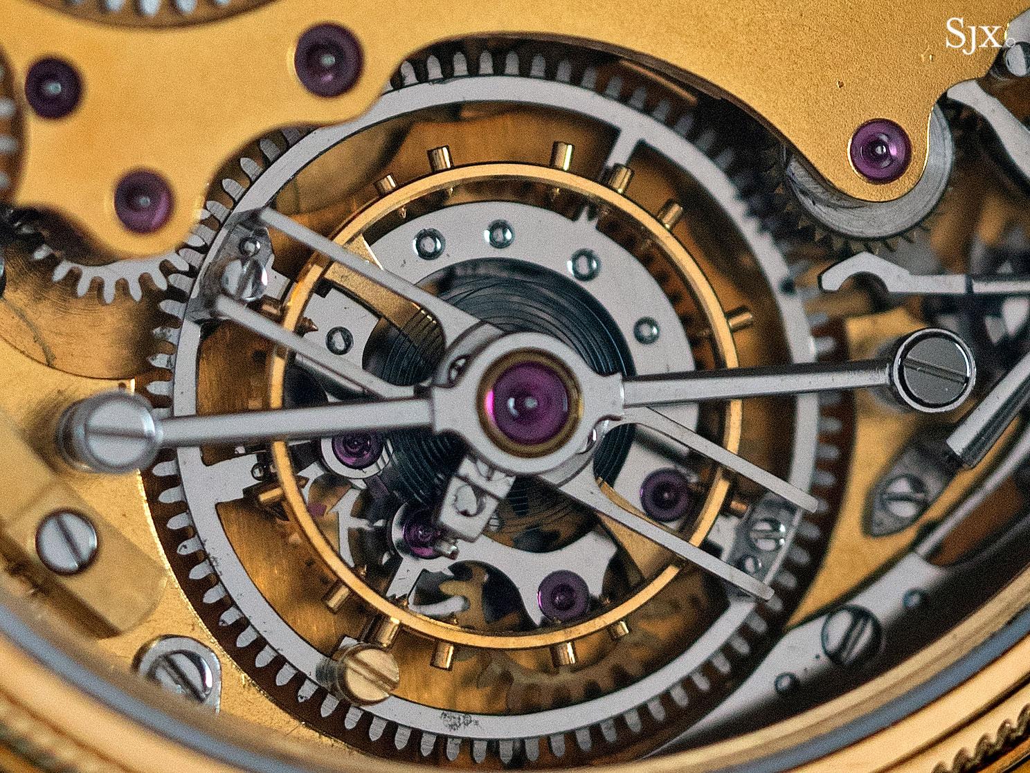 George Daniels Chronograph Wristwatch with tourbillon 19