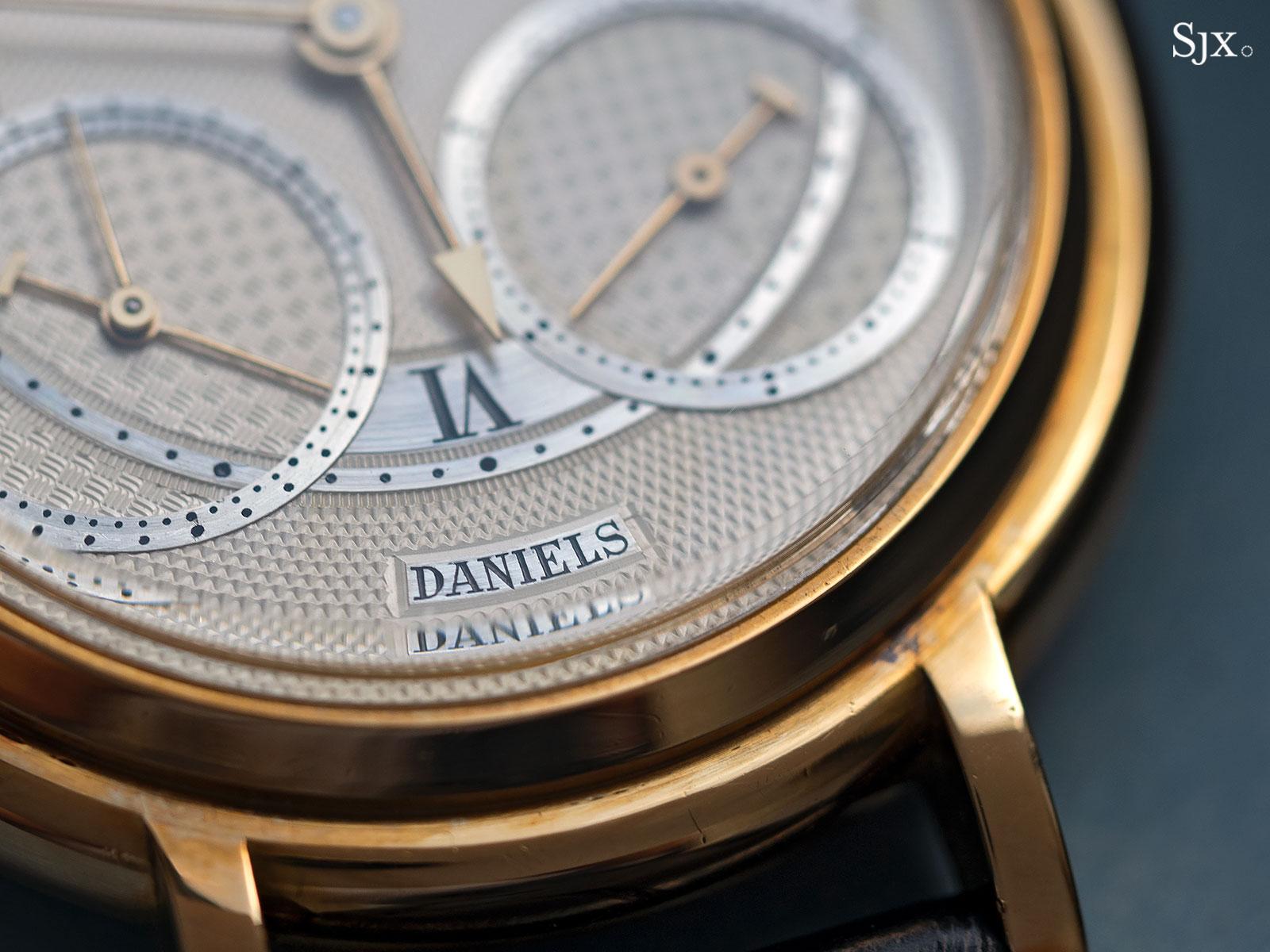 George Daniels Chronograph Wristwatch with tourbillon 2
