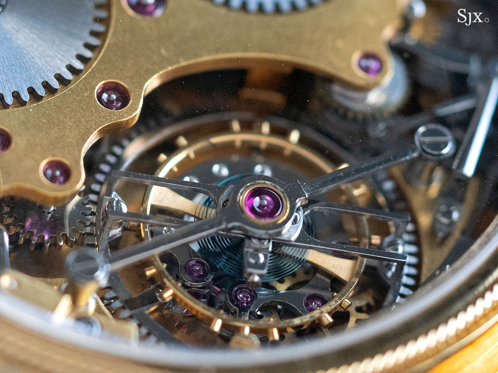 George Daniels Chronograph Wristwatch with tourbillon 21