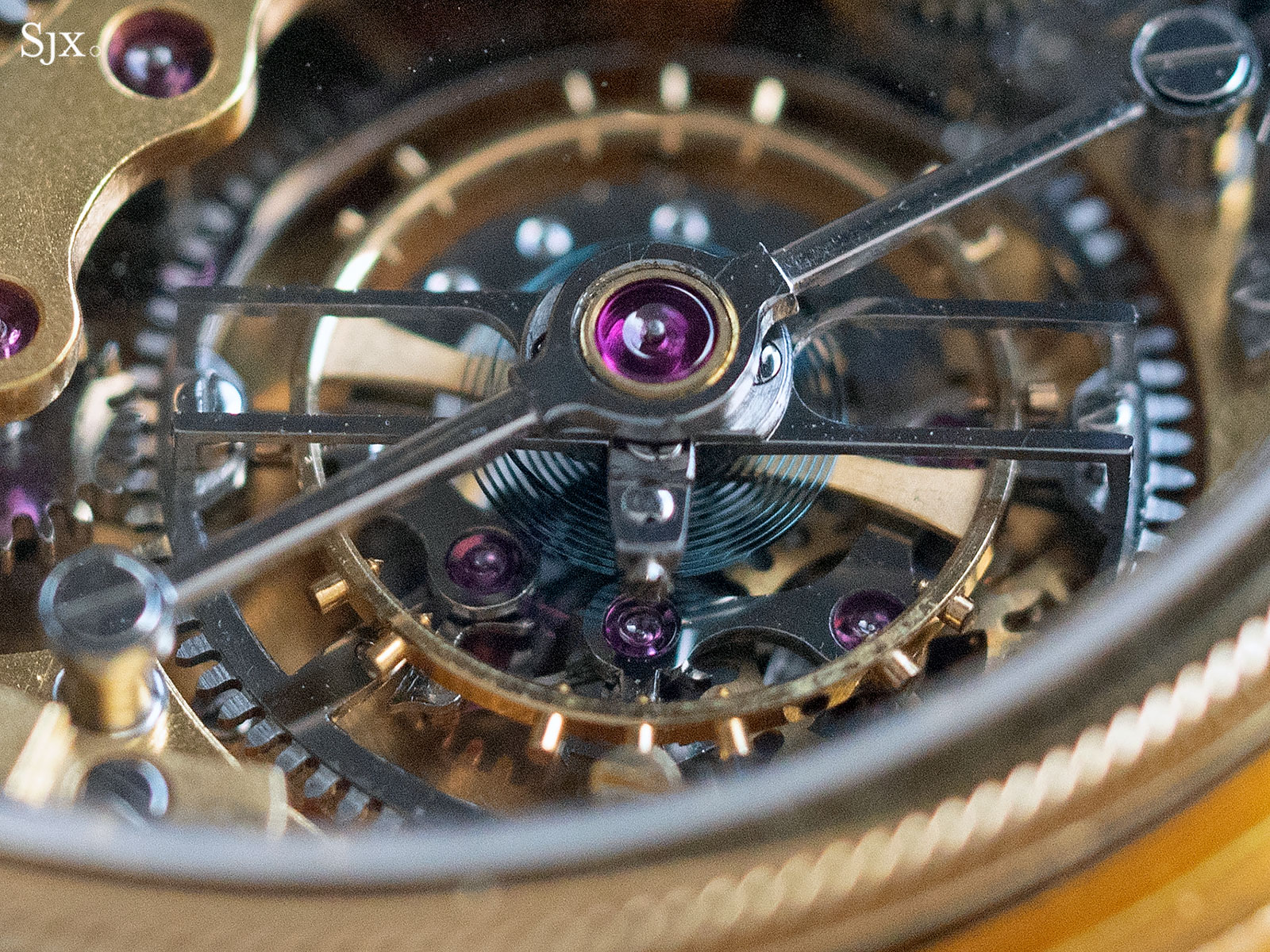 George Daniels Chronograph Wristwatch with tourbillon 22